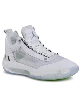 NIKE NIKE Обувки Air Jordan XXXIV Low CU3473 100 Бял