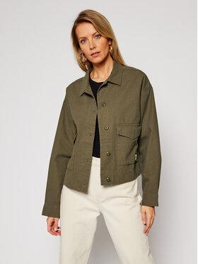 Vans Vans Átmeneti kabát Callahan VN0A4DRI Zöld Relaxed Fit