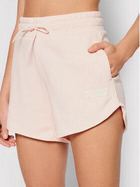 Puma Puma Sportske kratke hlače Modern Basics 3 587842 Ružičasta Regular Fit