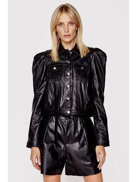 LaMarque LaMarque Kožená bunda Courtney Čierna Regular Fit
