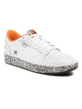 Puma Puma Sneakersy Sky Lx Low Mr Doodle 374211 01 Bílá