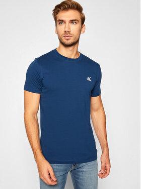 Calvin Klein Jeans Calvin Klein Jeans Marškinėliai Essential J30J314544 Tamsiai mėlyna Slim Fit
