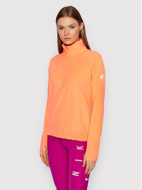 Nike Nike Fleecová mikina Air Midlayer CZ9146 Oranžová Standard Fit