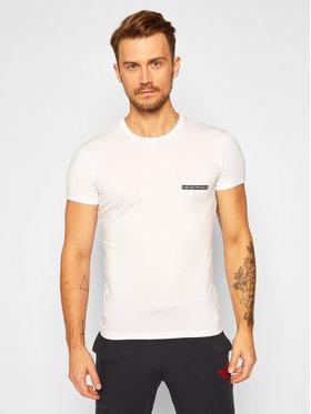 Emporio Armani Underwear Emporio Armani Underwear Marškinėliai 111035 0A729 00010 Balta Slim Fit