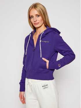 Champion Champion Sweatshirt Hooded 113187 Violett Custom Fit