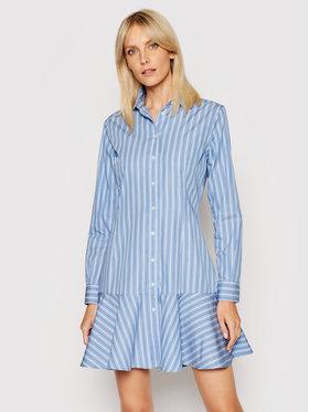 Lauren Ralph Lauren Lauren Ralph Lauren Рокля тип риза 200831793001 Тъмносин Regular Fit