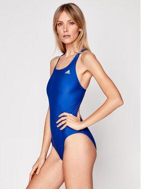 adidas adidas Bikiny SH3.RO Solid Swimsuit GM3884 Tmavomodrá
