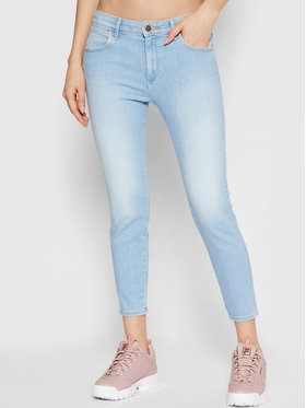Wrangler Wrangler Jeans Body Bespoke W28MZI29F Blau Skinny Fit