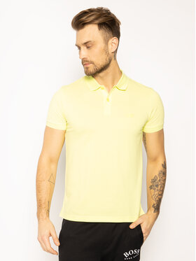 Boss Boss Polokošile Piro 50388956 Zelená Regular Fit