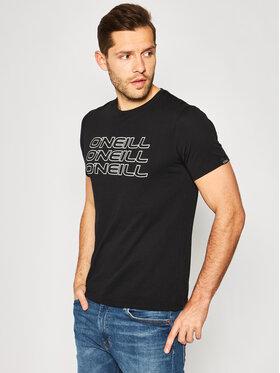 O'Neill Tričko Triple 0A2368 Čierna Regular Fit