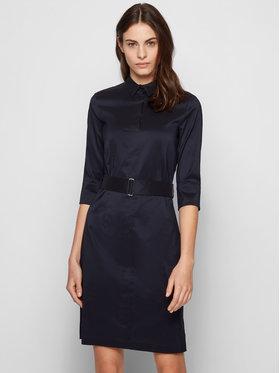 Boss Boss Sukienka codzienna Daliri1 50427524 Granatowy Regular Fit
