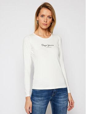 Pepe Jeans Pepe Jeans Blusa New Virginia PL502755 Bianco Slim Fit