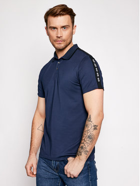 Guess Guess Polo M91P71 R7PU0 Σκούρο μπλε Slim Fit