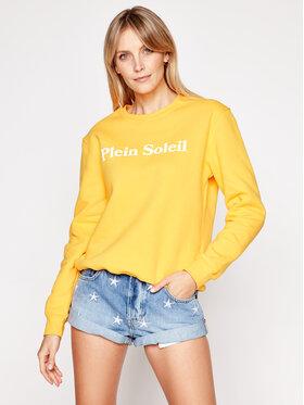 Drivemebikini Drivemebikini Sweatshirt Plein Soleil 2019-DRV-011_YW Jaune Regular Fit