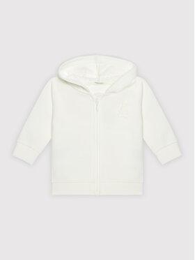 United Colors Of Benetton United Colors Of Benetton Sweatshirt 3J70MM270 Blanc Regular Fit