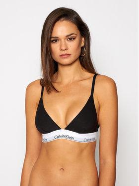 Calvin Klein Calvin Klein Σουτιέν Bralette Triangle Unlined 000QF1061E Μαύρο