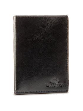 Wittchen Wittchen Velká pánská peněženka 21-1-020-10 Černá