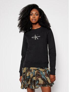 Calvin Klein Jeans Calvin Klein Jeans Džemperis J20J215145 Juoda Regular Fit