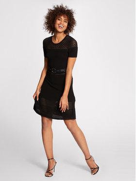 Morgan Morgan Úpletové šaty 211-RMVEGA Čierna Regular Fit
