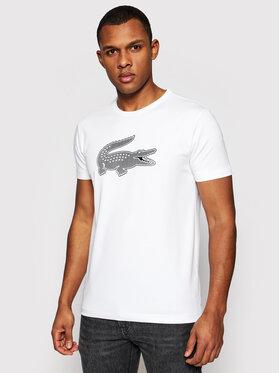 Lacoste Lacoste Marškinėliai TH2042 Balta Regular Fit