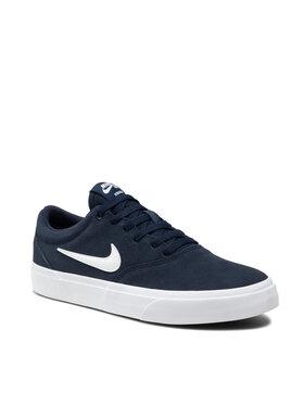 Nike Nike Boty Sb Charge Suede CT3463 Tmavomodrá