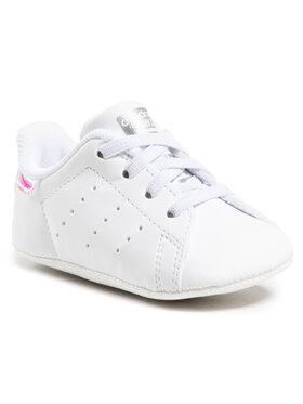 adidas adidas Обувки Stan Smith Crib FY7892 Бял