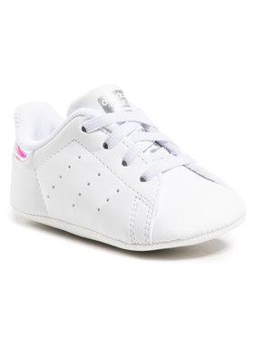 adidas adidas Topánky Stan Smith Crib FY7892 Biela