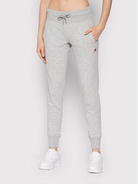 New Balance New Balance Spodnie dresowe Essentials Small WP13561 Szary Athletic Fit