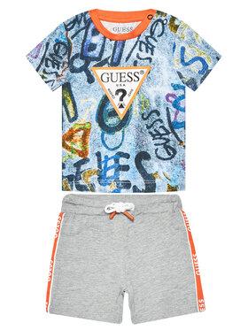 Guess Guess Sada T-shirt a šortky I1RG00 K8HM0 Barevná Regular Fit