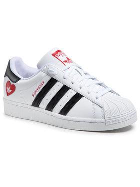 adidas adidas Chaussures Superstar FZ1807 Blanc