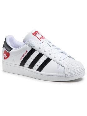 adidas adidas Обувки Superstar FZ1807 Бял
