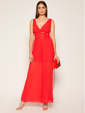 Guess Guess Jumpsuit Lana W0YK0B WAFB0 Rosso Regular Fit