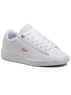 Lacoste Lacoste Sneakersy Carnaby Evo 0921 1 Suc 7-41SUC00021Y9 Bílá
