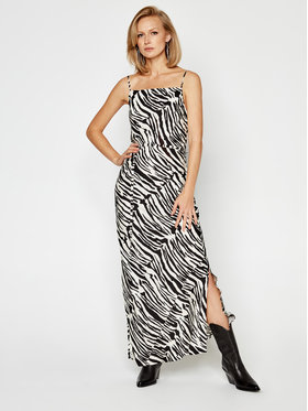 Calvin Klein Calvin Klein Ежедневна рокля Zebra K20K202077 Цветен Regular Fit