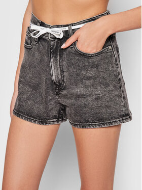 Calvin Klein Jeans Calvin Klein Jeans Szorty jeansowe J20J216307 Szary Regular Fit