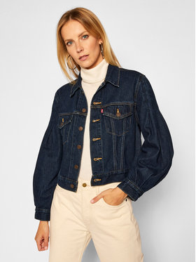 Levi's® Levi's® Jeansová bunda 37569-0000 Tmavomodrá Regular Fit