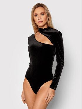 Nissa Nissa Body 12717 Czarny Slim Fit