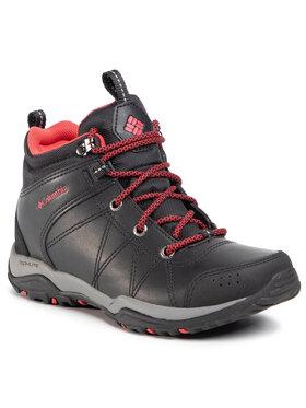 Columbia Columbia Παπούτσια πεζοπορίας Dunwood Mid Omni-Grip 1794631010 Μαύρο