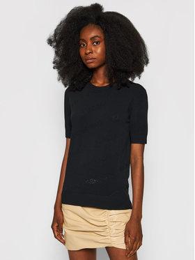 KARL LAGERFELD KARL LAGERFELD Блуза All-Over Logo 215W2000 Черен Regular Fit