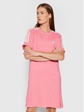 adidas adidas Ежедневна рокля adicolor Classics Roll-Up H35503 Розов Loose Fit