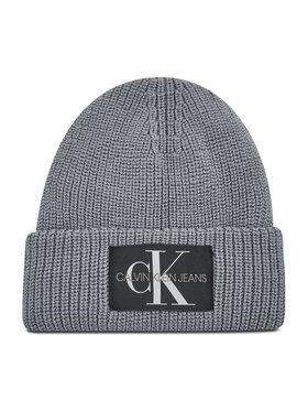 Calvin Klein Jeans Calvin Klein Jeans Czapka Monogram Beanie Wl K50K506242 Szary