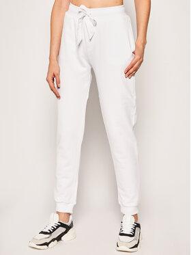 Trussardi Jeans Trussardi Jeans Teplákové kalhoty 56P00192 Bílá Regular Fit