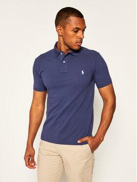 Polo Ralph Lauren Polo Ralph Lauren Тениска с яка и копчета Classics 710536856230 Тъмносин Slim Fit