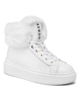 Guess Guess Sneakers FL8HIS LEA12 Alb