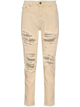 Rage Age Rage Age Jeans Vera 1 Beige Relaxed Fit