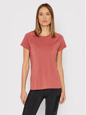 Outhorn Outhorn Тениска от техническо трико TSDF600 Розов Slim Fit