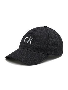 Calvin Klein Calvin Klein Шапка с козирка Re-Lock Bb Cap Mono K60K608216 Черен