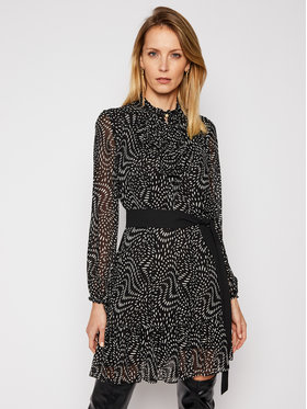 Pinko Pinko Ежедневна рокля Vigorso PE 21 BLK01 1G15QZ Черен Regular Fit