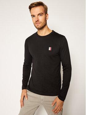 TOMMY HILFIGER TOMMY HILFIGER Marškinėliai ilgomis rankovėmis Modern Essential Ls Tee MW0MW15344 Juoda Regular Fit