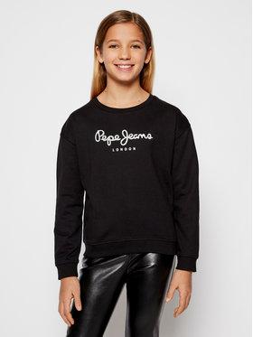 Pepe Jeans Pepe Jeans Суитшърт Winter Rose PG581137 Черен Regular Fit